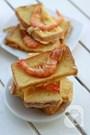 Công thức làm bánh mì sandwich chiên tôm giòn thơm ngon miệng
